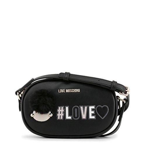 Love Moschino Borsa Pu - Shoppers y bolsos de hombro Mujer Negro (Nero)