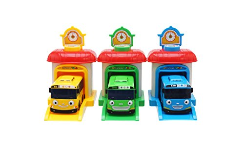 Tayo Rogi Lani Shooting-Car Station - The Little Bus Tayo Friends Toy Car