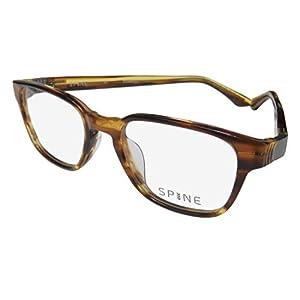 Spine Eyeglasses SP1003 SP/1003 105 Havana Full Rim Optical Frame 49mm