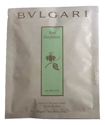 Bvlgari au the vert (green tea) bath tea bags Set of - Bvlgari Green Bag