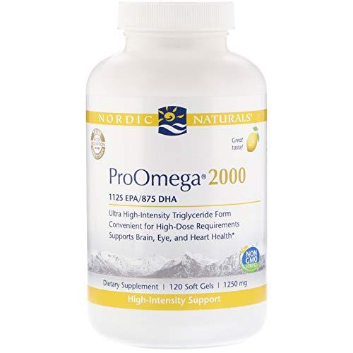 Nordic Naturals Proomega 2000 Fish Oil 1125 Mg Epa