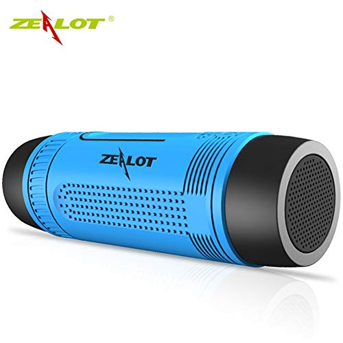TOOSD Wireless Bluetooth Speaker ZEALOT/Fever S1 Waterproof Outdoor...