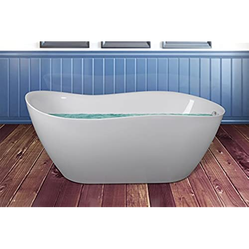 Interior Small Bathtub extra small bathtubs amazon com akdy 67 freestanding body contemporary modern white soaking acrylic oval shape with overflow bathtub for shower spa