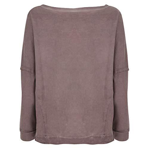 Sweat En Avec Cool Freddy Paillettes Inserts Et Dyed Mauve Pale Cousues Dentelle Medium shirt pHndqdxwfa