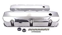Racing Power Company R6248POL Tall Fabricated Chrome Aluminum Valve Cover for Big Block Chevy