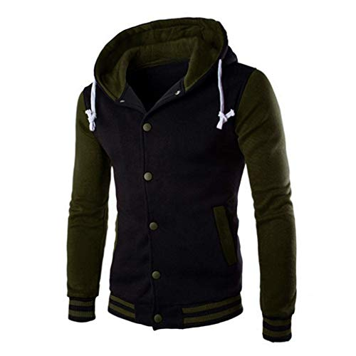 Cotton Coats for Men,Realdo Men's Warm Outwear Jacket Autumn Winter Slim ()
