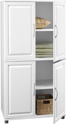 Ameriwood 4-Door Storage Cabinet  sc 1 st  Amazon.com & Amazon.com: Ameriwood 4-Door Storage Cabinet: Kitchen u0026 Dining
