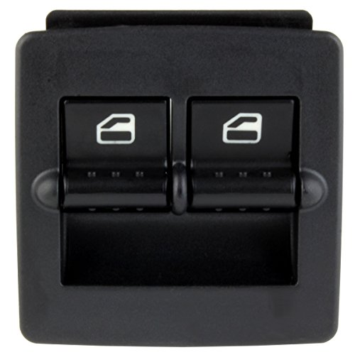 IAMAUTO 24450 Left Driver's Side Window Switch For 1998 1999 2000 2001 2002 2003 2004 2005 2006 2007 2008 2009 2010 Volkswagen VW Beetle (Vw Driver Beetle)