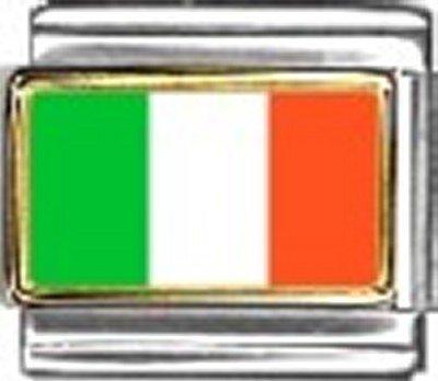 Italy Photo Flag Italian Charm Bracelet Jewelry Link