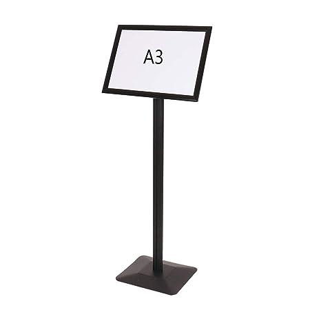 GXFC Soporte de póster con Pedestal Ajustable, Soporte ...