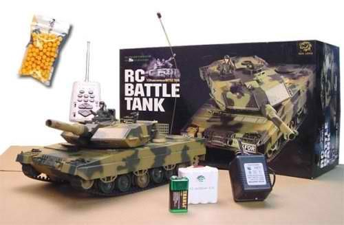German Leopard II A5 Main Battle Tank RC Airsoft Radio Control 1/24 ()