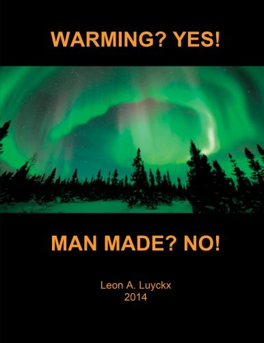 warming yes manmade no