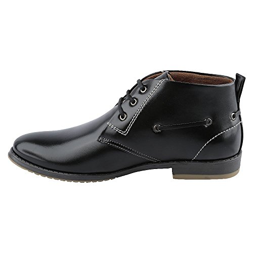 Mancini Men's Black Synthetic Formal Shoes (450080433001) – 6 UK