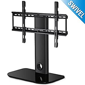 fitueyes universal tv stand base mount for most 32 60 flat screen. Black Bedroom Furniture Sets. Home Design Ideas