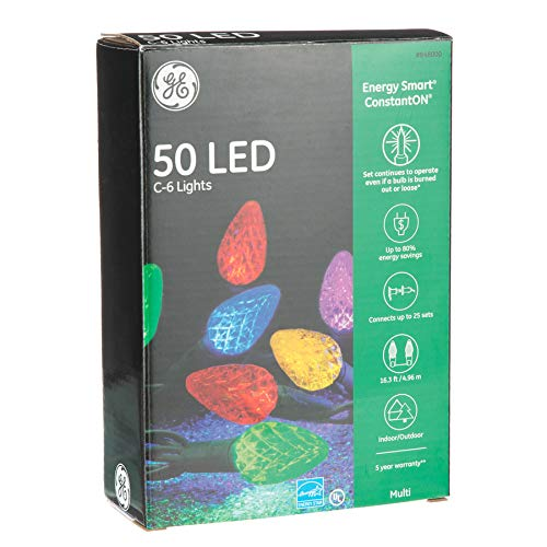 Ge 50 Count Multicolor Led Christmas String Lights in US - 6