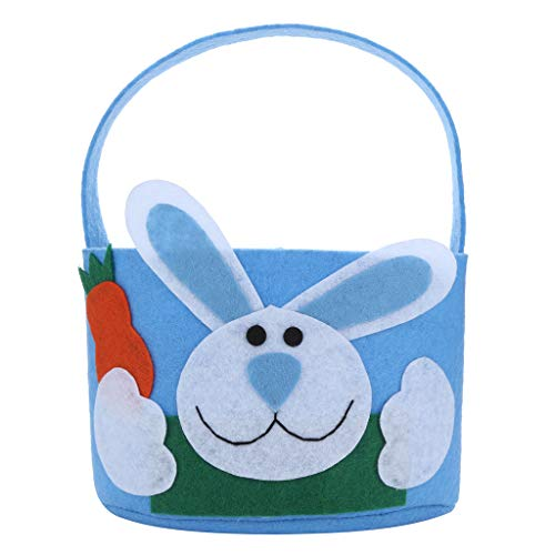 Iusun Easter Rabbit Candy Bag Creative Present Home Accessory Organizer Pouch Xmas Cartoon for Chocolates Candies Biscuits Home Decor Supplies Gift -