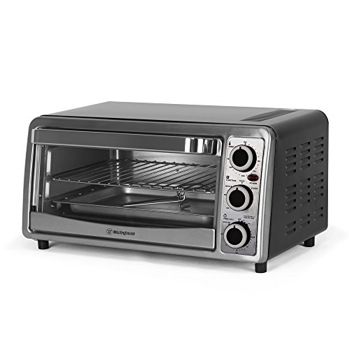 Westinghouse 6 slice toaster oven temperature control - Cool touch exterior convection toaster oven ...