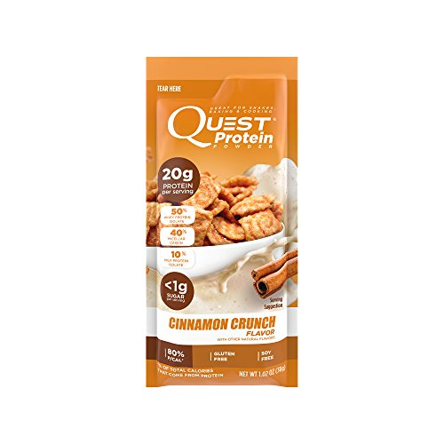 Quest Nutrition Vanilla Milkshake Protein Powder, High Protein, Low Carb, Gluten Free, Soy Free, 2lb