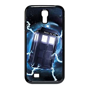 Customize Doctor Who Police Box Back Case for Samsung Galaxy S4 I9500 JNS4-1619