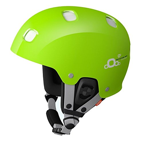 POC Receptor Bug Adjustable Helmet (Green/White, X-Small/Small, 51-54)