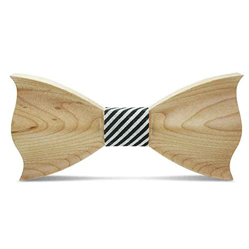Men's Bowtie Wood Walnut Strap 2 Bow Color Wooden 1 Style Handmade Adjustable Maple With Tie rx0w4ERr