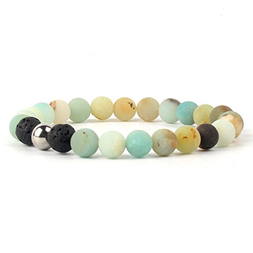 Fashion Mens Black Lava Stone Gold Lion Buddha Beaded Charm Bracelet Cheapest