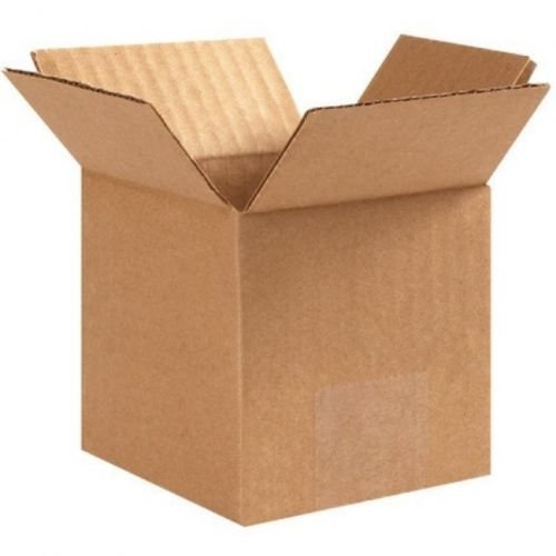 125 Boxes- 4x4x4 Cardboard Packing Shipping Boxes Corrugated - Shipping International Rates Usps