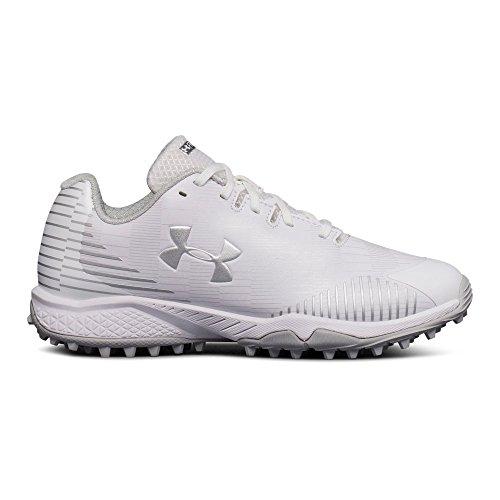 (Under Armour Women's Finisher Turf Lacrosse Shoe, (101)/White,)