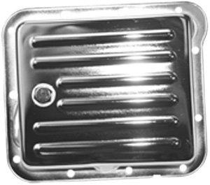 UPC 844974056379, Mota Performance A70835 Chrome Transmission Pan Stock Depth, Finned