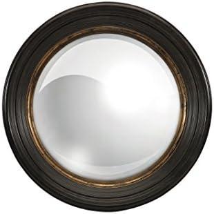 Home Decorators Collection Manning Mirror, 25.5 Diameter, Black