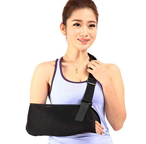 Arm Sling Medical Support Strap, Carnatory Lightweight Breathable Ergonomically Designed Medical SlingImmobilizer Rotator Cuff Wrist Elbow Forearm Support Brace Strapfor Shoulder, Arm, Elbow, Rotator