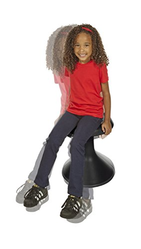 Classroom Select NeoRok Motion Stool, Active Wobble Seating, 15-1/2 inch Seat Height, Ebony by Classroom Select (Image #3)