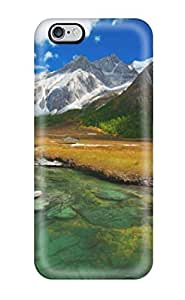 Iphone Case - Tpu Case Protective For Iphone 6 Plus- Scenery In Southwest China