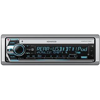 Discount Kenwood KMRD772BT Single DIN Marine Audio USB AUX CD Bluetooth SiriusXM Ready Stereo Receiver