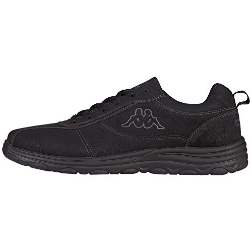 Kappa Herren Mavos Low-Top Schwarz (1111 black)