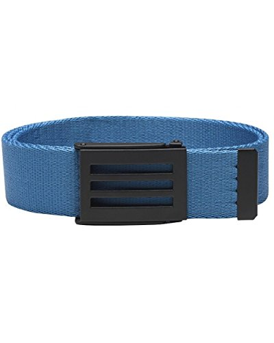 [Adidas Golf 2017 Performance Mens Golf Funky Webbing Belt - One Size Blast Blue] (Adidas Sport Performance Buckle)