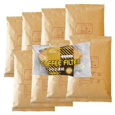 カリタ102コーヒーフィルター 2~4人用 100枚入り アメリカンブレンド/浅煎り 4kg 400杯~600杯 [豆のまま(オススメ)] コーヒー豆/浅入り 豆のまま(オススメ)  B00KQHZ6LA