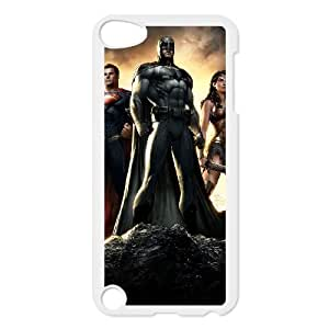 iPod Touch 5 Case White Batman1 POW Cell Phone Case Hard Personalized