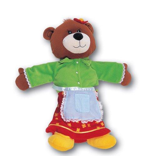 Mummy Bear Tellatale Hand Puppet