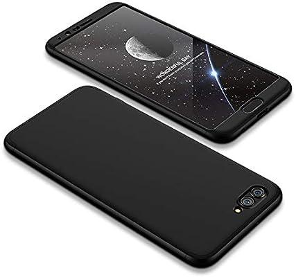 JMGoodstore Funda Compatible Huawei P10 Plus,Carcasa Huawei P10 Plus,360 Grados Integral Ambas Caras+Cristal Templado,[ 360°] 3 in 1 Slim Dactilares ...