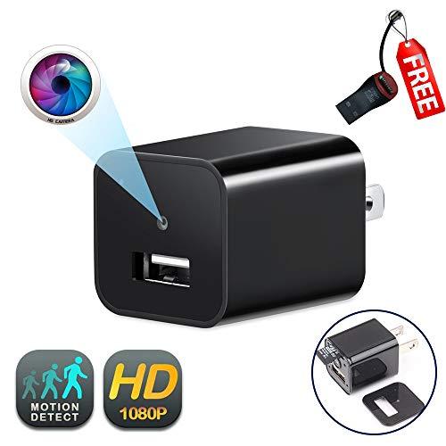 - USB Wall Charger Camera   GEAGLE 1080P HD USB Wall Charger Hidden Spy Camera/Nanny Spy Camera Adapter   External Memory   Motion Detection