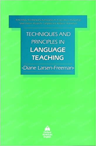 Book Techniques and Principles in Language Teaching (Teaching techniques: Eng second language)