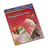Apollo Quick Dry Universal Inkjet Transparency Film (CG7033S)
