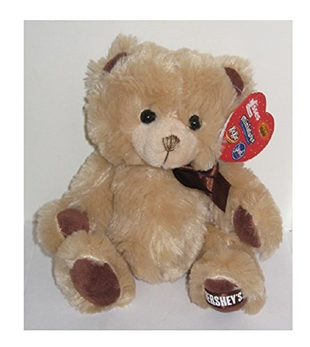 10 Hersheys Sweet - Hershey's Chocolate Valentine's Day Tan Teddy Bear Plush Stuffed Animal Toy 10