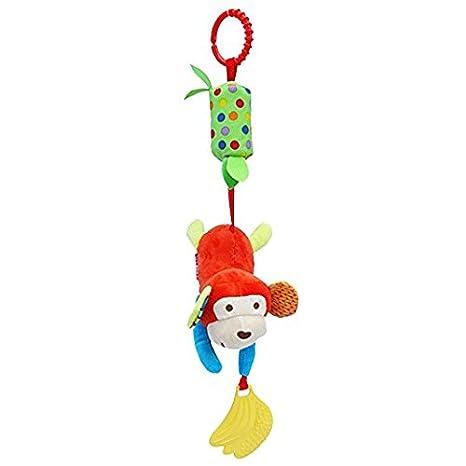 JinZhi-Cheng Monkey Puppet - Mancuernas colgantes para niños, bebés, cochecito, mono, juguetes: Amazon.es: Hogar