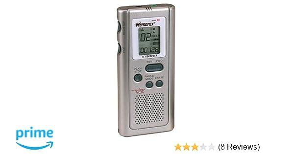 amazon com memorex mb2054 digital voice recorder electronics rh amazon com