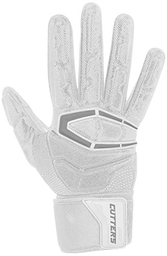 Cutters Gloves S932 Force 3.0 Lineman Gloves, White, XX-Large by Cutters (Image #1)