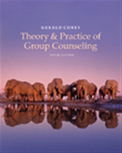 Theory and Practice of Group Counseling (MindTap Course List)