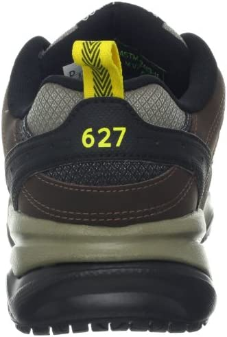 100/%Authentic New Men New Balance MID627B2 Steel Toe Work Shoes Black Medium D