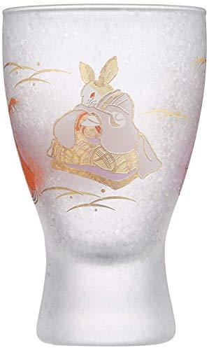 Aderia Japan Rabbit MasuZake Glass (Japanese Sake Glass) w/Masu Box''promotion and advancement'' 6784 by Aderia Japan (Image #1)